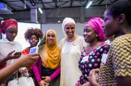 Attendees with Hadiza Bala Usman (Founder, Bring Back our Girls + Chief of Staff to Kaduna State Governor)-2