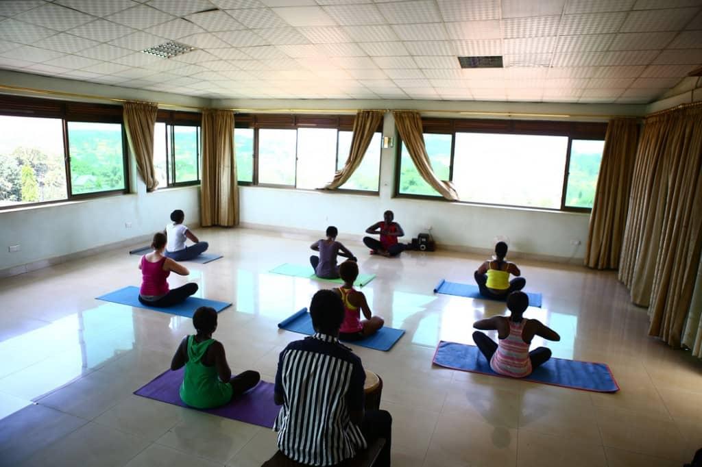 Mildred Apenyo - Fitclique yoga class