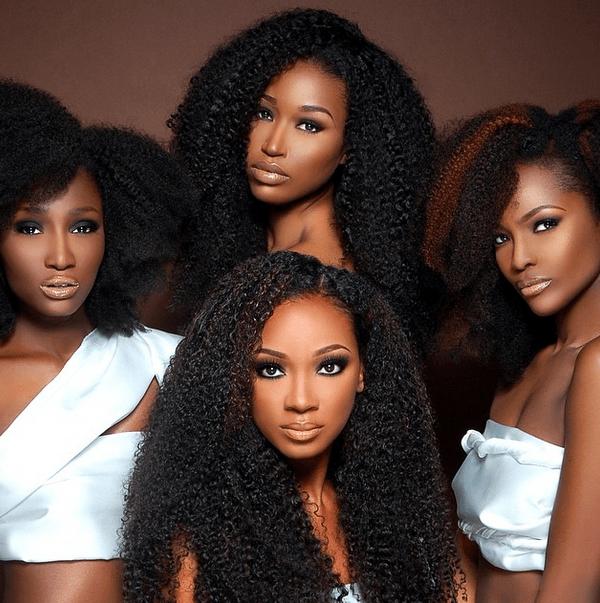 Heat Free Hair - Natural Hair Extension Models