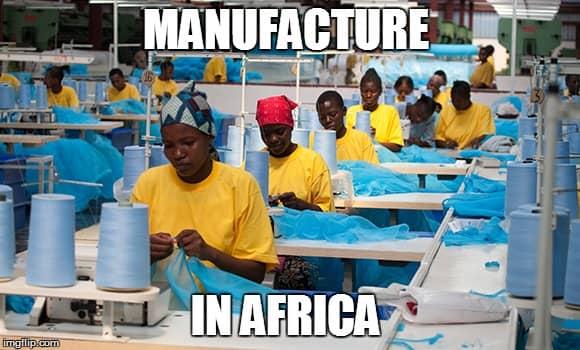 Manufacture in Africa