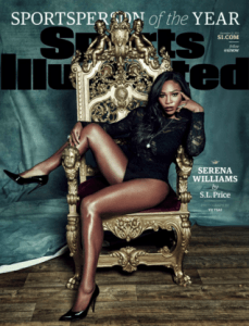 Serena Williams Sports Illustrated Cover