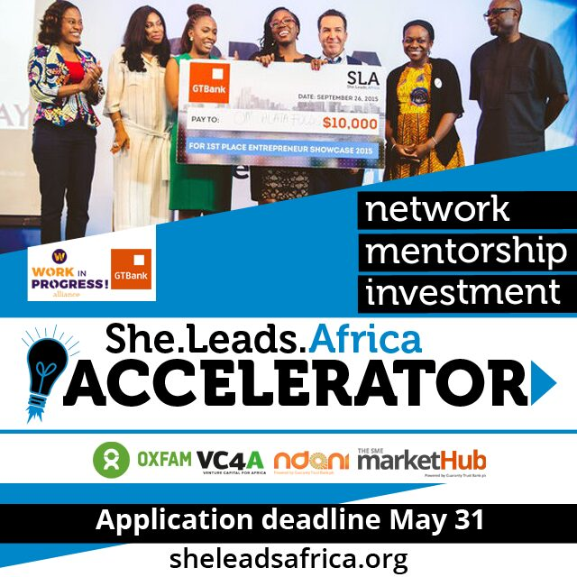 Apply for the SLA Accelerator
