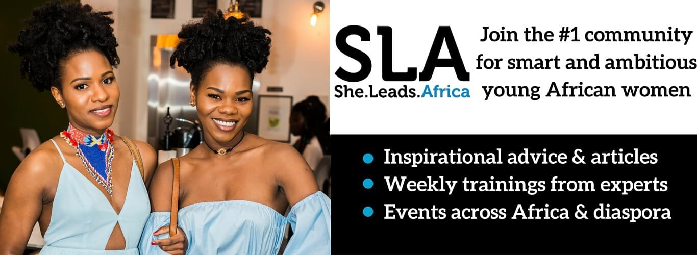 Join the #1 community for smart and ambitious young African women