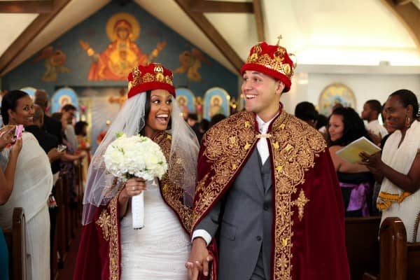 Glenview-Mansion-Maryland-Ethiopian-Wedding-Ceremony-Recessional