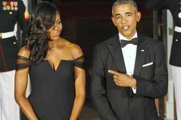 President Obama - Michelle Obama China State Dinner