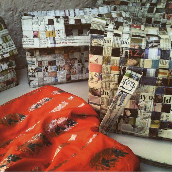 Sari for Change newspapers