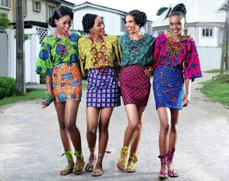 young african women