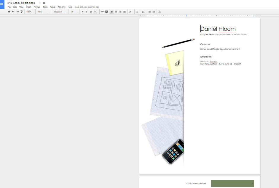 resume screenshot-1