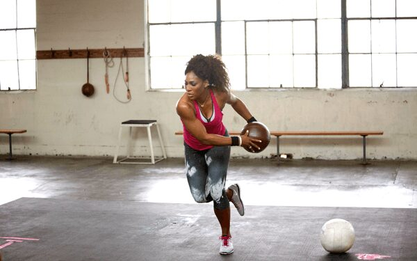 Serena Williams Stay fit