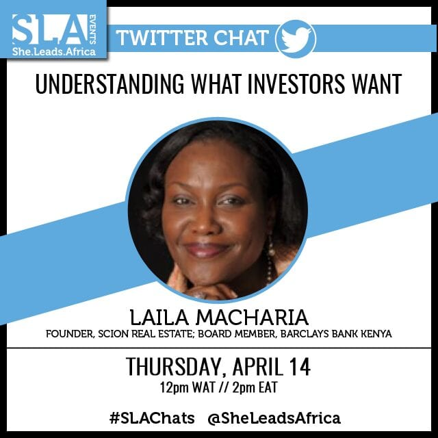 Understanding what investors want - Laila Macharia