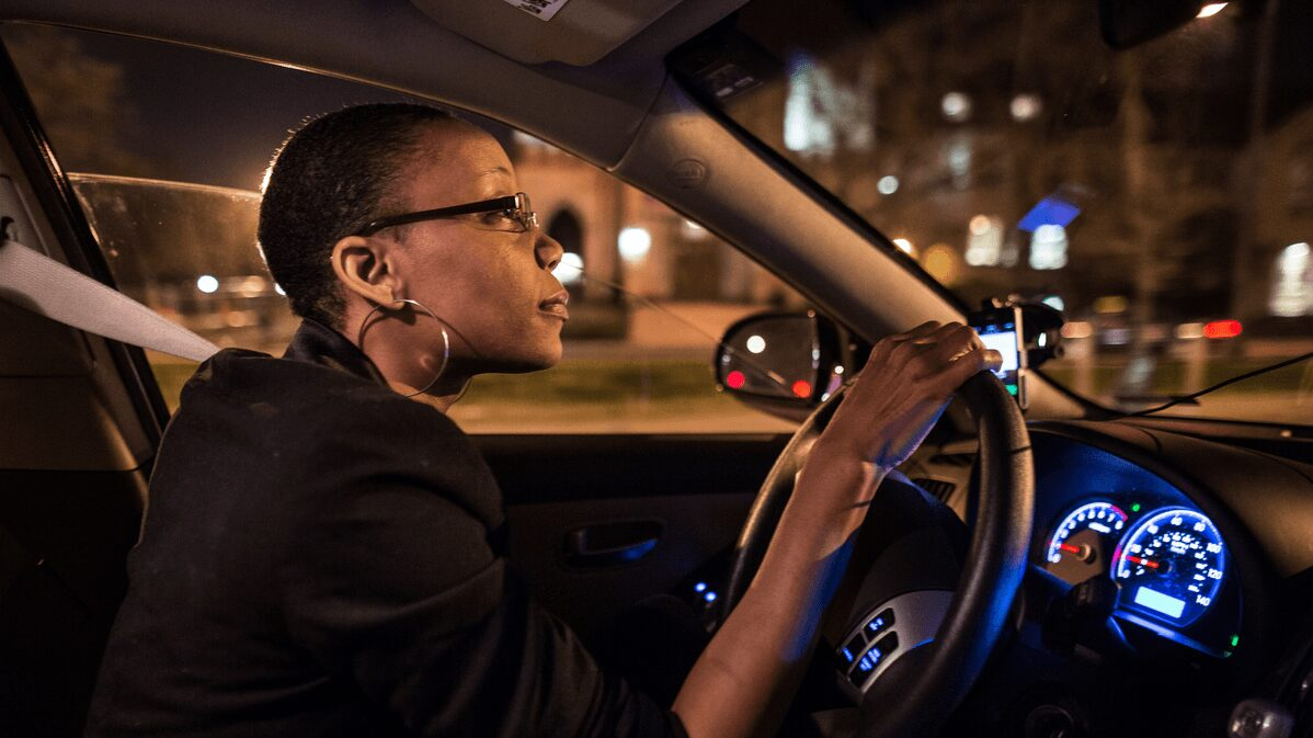 Uber Woman Driver