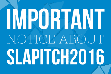 Notice about Pitch 2016