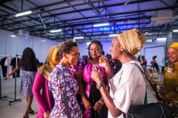 Ndidi Nnoli Edozien (Founder Growing Business Foundation) & Aisha Abba Kyari