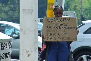 anthea malwandle unemployed jobseeker