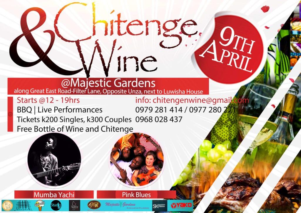 Chitenge & Wine ad Poster