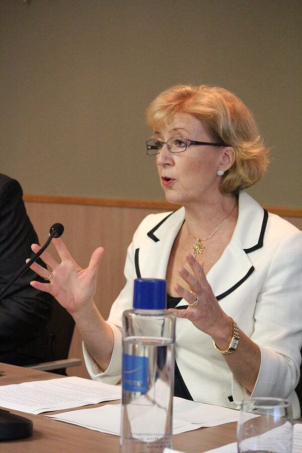 By Policy Exchange - Flickr: Andrea Leadsom MP, CC BY 2.0