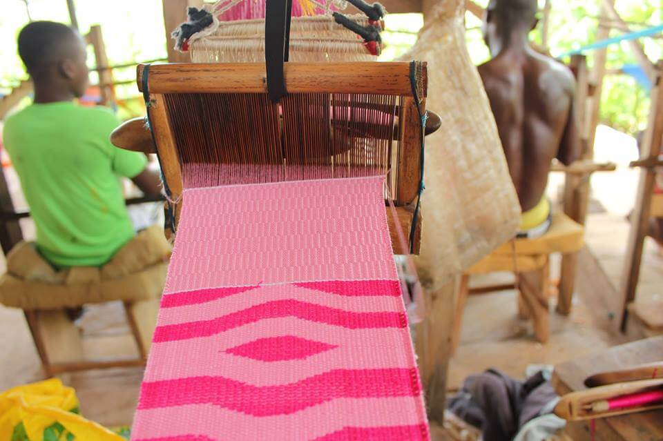 Kente weaving
