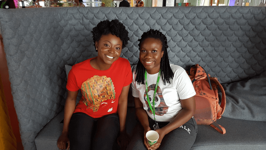 afua&yasmin shehive london