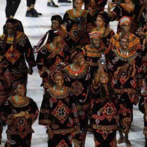 cameroon rio olympics opening ceremony