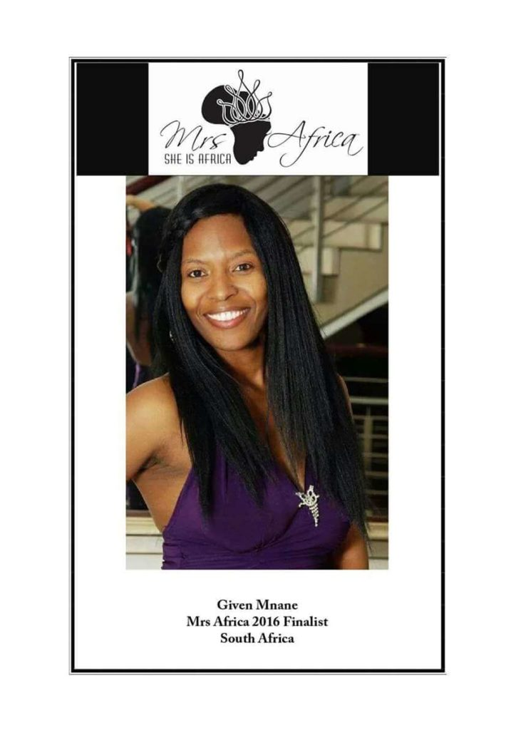 given mnane mrs africa