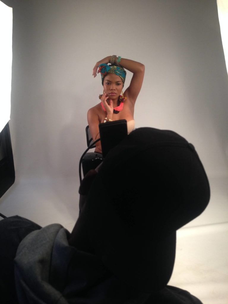 stylist behind the scenes kendi sapepa
