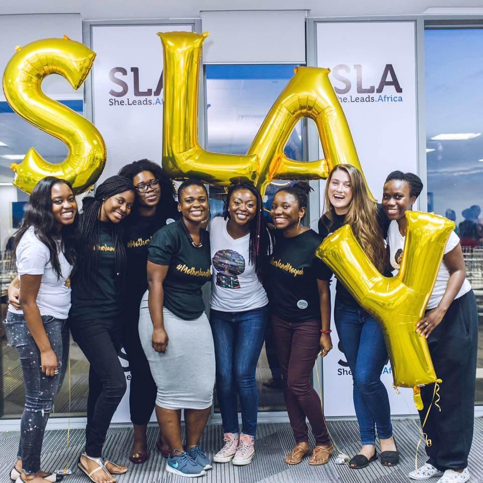 SLA Team - Nigeria's President falls our hand