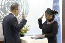 United Nations Women Executive Director Phumzile Mlambo-Ngcuka