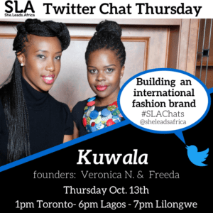 twitter chat kuwala international fashion brand