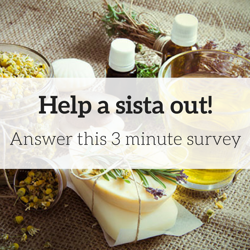 help-a-sista-out - survey