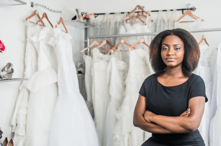 abena ofosua obuba i left engineering to become a bridal consultant