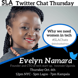 Women in tech Evelyn Namara