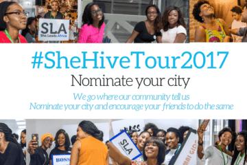 SheHive Tour 2017