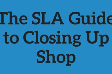 sla guide closing up shop
