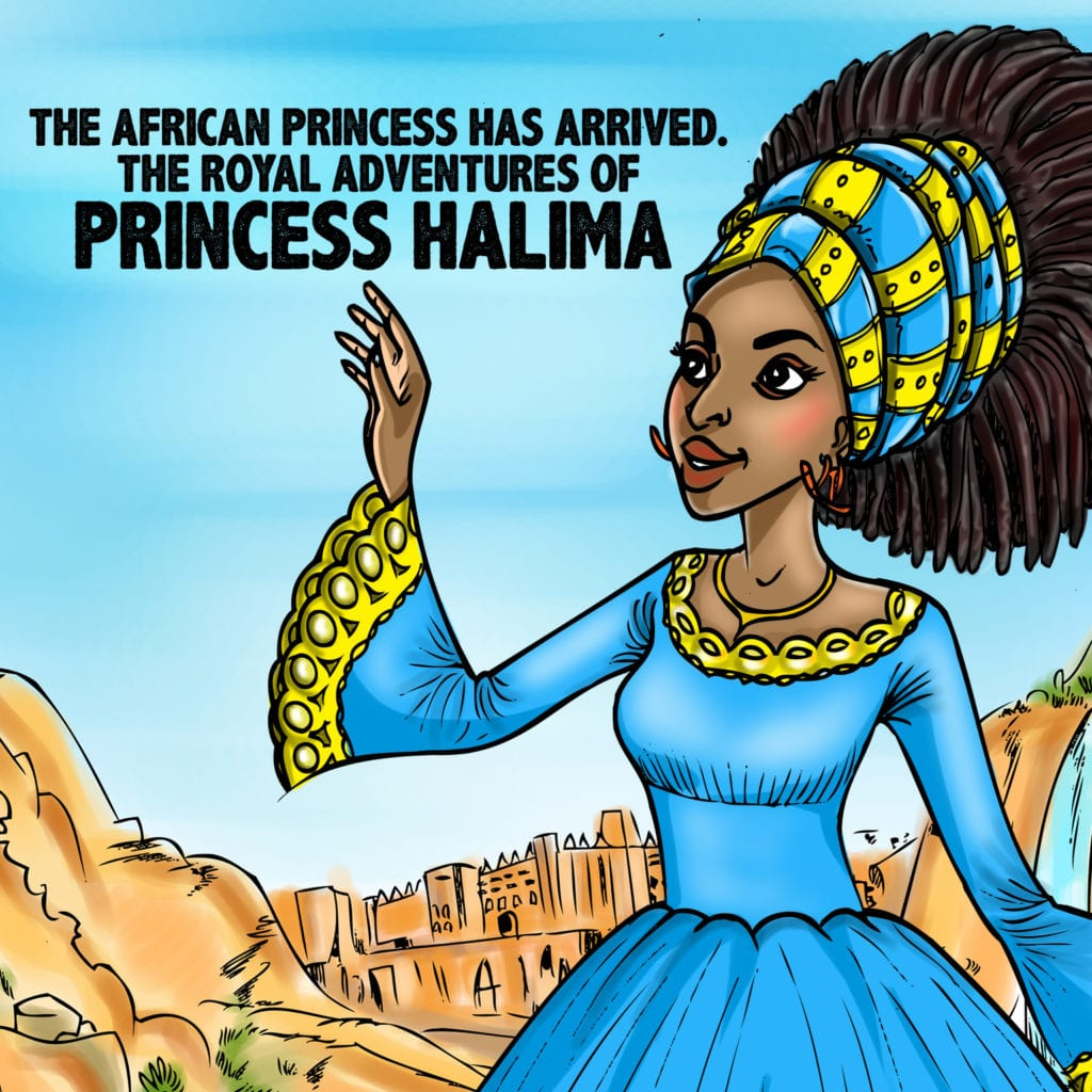Princess Halima Book Cover