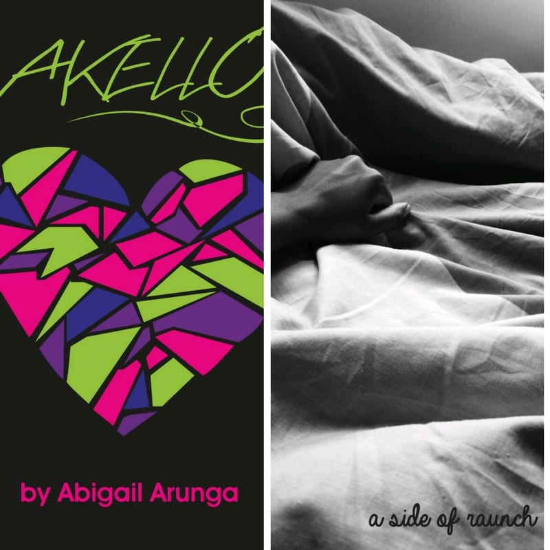 Some of Abigail's self-published books