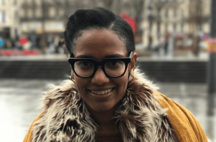 Janine Dieudji by Darrel Hunter in Paris