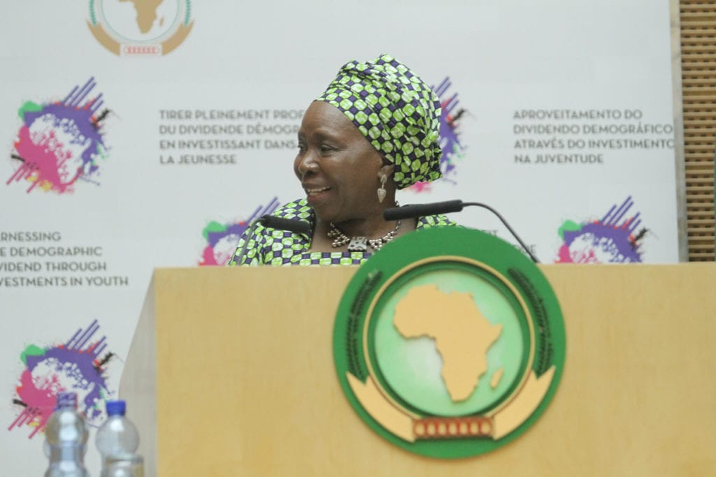 The first female Chairperson of the AU Commission Dr Nkosazana Dlamini Zuma. Copyright African Union