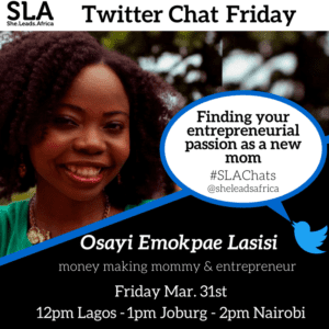 Twitter chat with Osayi (1)