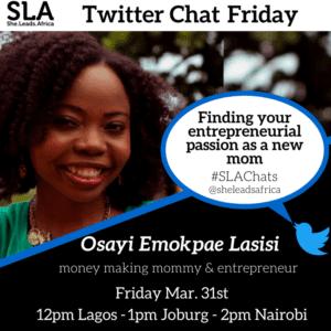 Twitter chat with Osayi (1)