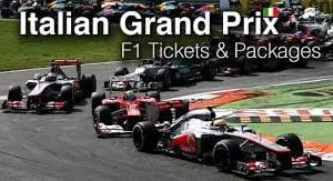 Two tickets to formula 1