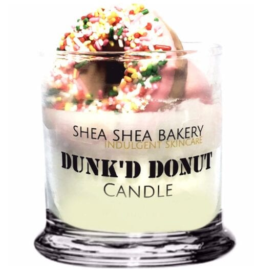 Dunk'd Donut Candle By Shea Shea Bakery