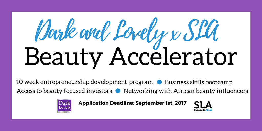 Dark and Lovely x SLA Beauty Accelerator