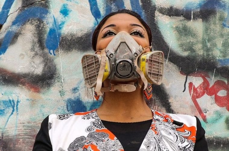 Assil Diab Being An Arab Muslim Female Painting The Streets Is Not Always Applauded