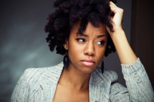 Image result for black woman stressed