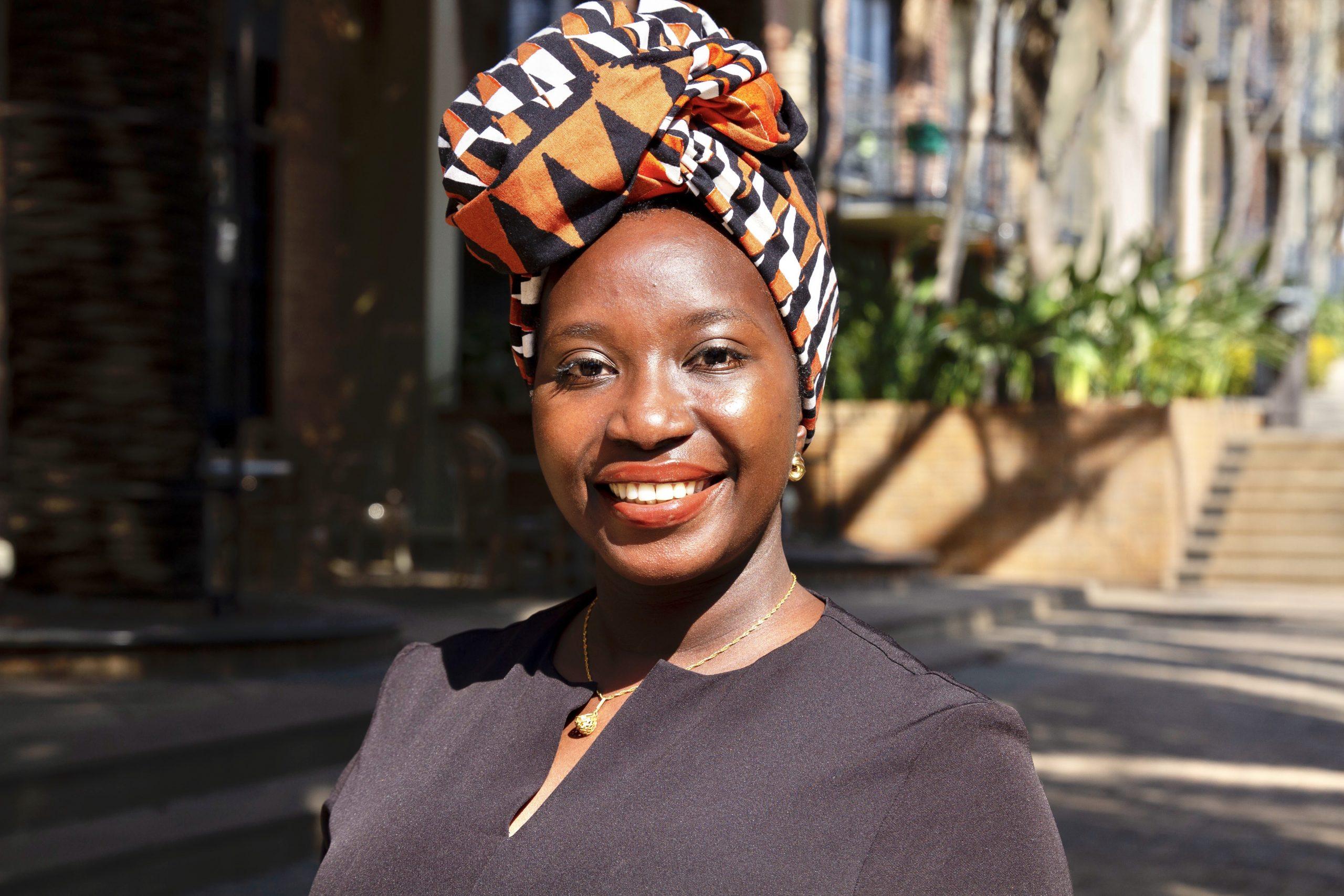 Chebet Chikumbu identifies as Pan-African