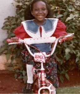 young Chebet Chikumbu